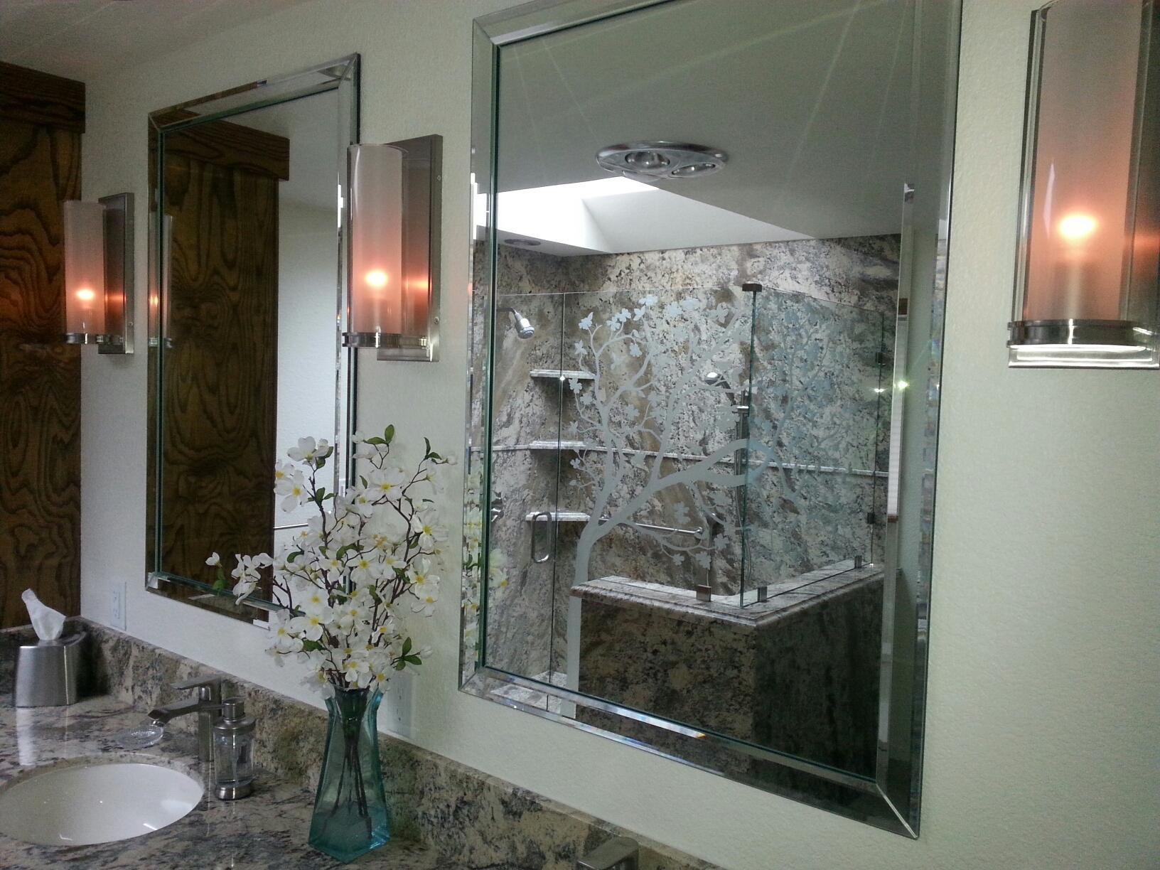 Mirrors Redwood Glass