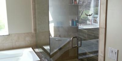 custom steam shower door